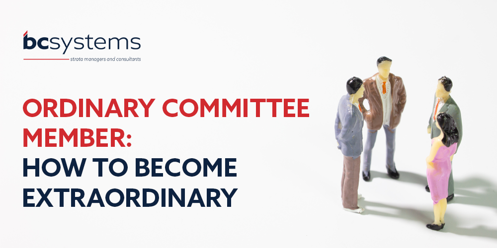Ordinary Committee Member: How to become extraordinary