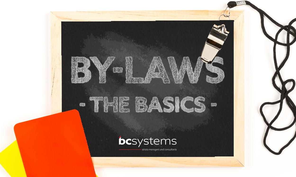 Body corporate by-laws: the basics