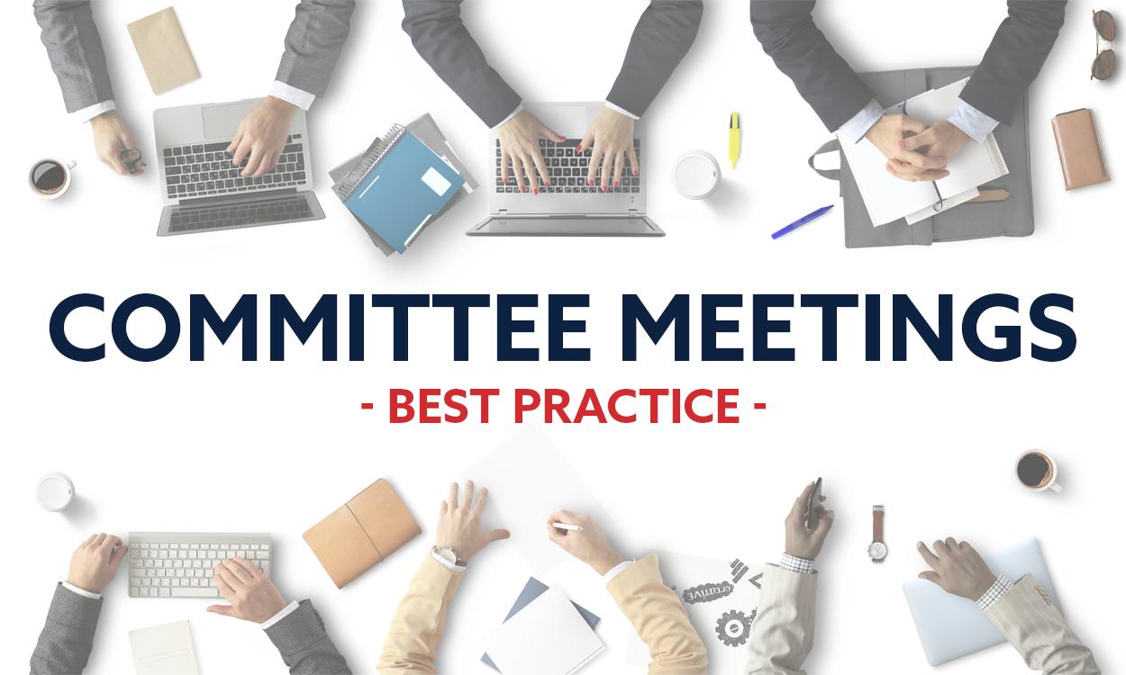 Body Corporate Committee meetings