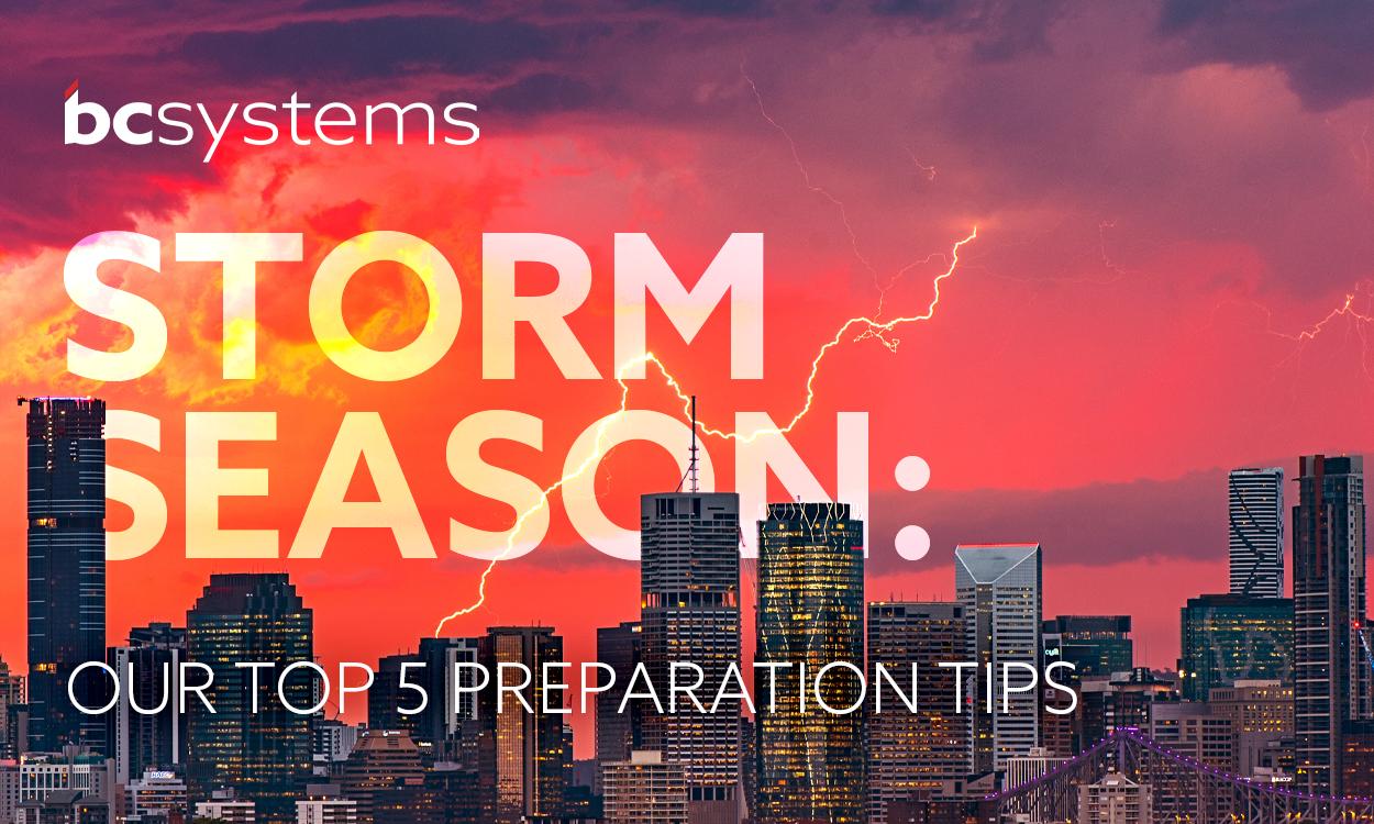 Storm season preparation for body corporate schemes